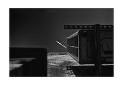 dish (Christopher Burdon) Tags: london ealing analog film sky satellitedish nikonl35af ektar converted bw