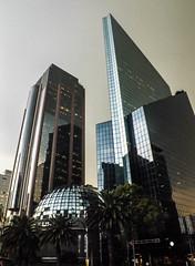 Reforma, Mexico city (Justgetdancey) Tags: mexico mexicocity reforma architecture buildings skyscrapers urban city citycentre