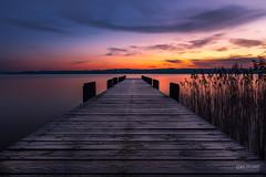 In der Früh am Ammersee (Klaus Steinert) Tags: ammersee bayern deutschland sonnenaufgang steg jetty snrise lake bavaria germany