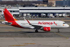N726AV   Airbus A319-115/W   Avianca (cv880m) Tags: newyork jfk kjfk kennedy aviation airliner airline aircraft airplane airport jetliner n726av airbus a319 319100 winglet sharklet avianca colombia 319115