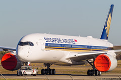 Singapore Airlines Airbus A350-941 cn 278 F-WZGU // 9V-SHD (Clément Alloing - CAphotography) Tags: singapore airlines airbus a350941 cn 278 fwzgu 9vshd toulouse airport aeroport airplane aircraft flight test canon 100400 spotting tls lfbo aeropuerto blagnac airways aeroplane engine sky ground take off landing 1d mark iv avgeek avgeeks planespotter spotter