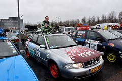 Start Carbage Run winter 2019 - Kopenhagen (FaceMePLS) Tags: kopenhagen copenhagen denemarken denmark scandinavië facemepls nikond5500 rally car voiture pkw wagen voertuig 43sfvp 1998audi8daudia4 carbageteam5472