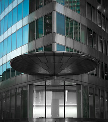 (numéro six) Tags: architecture arquitetura building predio tour torre urban ubrano urbain grey gris cinzento azul blue bleu city ville cidade ciudad