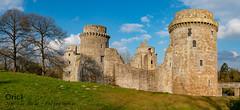 Château de la Hunaudaye (Oric1) Tags: 22 canon côtesdarmor france oric1 armorique breizh bretagne brittany castle château eos hunaudaye plédéliac 70d pano panorama