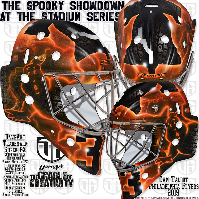 80be2b36515 The Spooky Showdown at The Stadium Series (DaveArt MaskGallery) Tags:  talbot philadelphia flyers