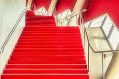 Red RED red (*Capture the Moment*) Tags: 2019 allianzarena architecture architektur februar february fotowalk munich münchen sonyilce6300 stefan tum