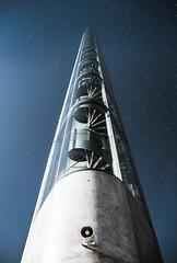 Stairway to heaven (FrenchTropicalFruit) Tags: bridge france tower stairway architecture bordeaux sky stars ciel etoiles pont chabandelmas chaban delmas escaliers nouvelleaquitaine aquitaine sudouest landscape