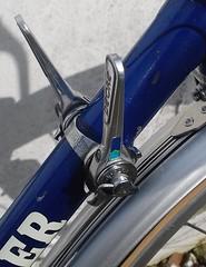 Claud Butler Dalesman Azure Blue 1982 Classic Retro Bike (drbw120367) Tags: wolber model58 patina claud butler dalesman azure blue silver black white ta ird retro classic classica 18sp 6sp 1132t nitto s83 dynamic b136 randonneur panaracer pasela pg qr hudz nos campagnolo shimano deoremk11 downtube 27x114 126mm 110mm m5 cape wrath sks custom bespoke british made old skool cool cult steel steed ride road bike tourer touring rig dia compe brooks imperial leather uk 1982 bicycle original frameset 531st 531forks lamp bracket mks christophe toeclips 36h