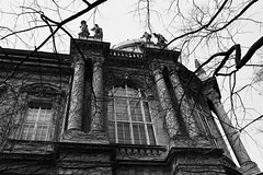 ... (Natasha Buzina) Tags: budapest hungary castle blackandwhite digital nikon будапешт
