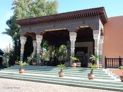 Marrakech - Hôtel de la Mamounia - فندق مامونيا (Fontaines de Rome) Tags: maroc marrakech hôtel mamounia henri prost antoine marchisio jacques majorelle المغرب مراكش فندق مامونيا