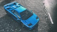 DriveClub (Matze H.) Tags: drive club driveclub lamborghini diablo sv blue street game wallpaper 2160p uhd hdr 4k screenshot car supercar playstation 4 pro photo mode