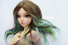 DSC_2045 (sonya_wig) Tags: fairytreewigs wig bjdwig minifeewig bjd bjdminifee minifeechloe handmadedoll bjddoll dollphoto fairyland fairylandminifee minifee chloe bjdphotographycoloringhair