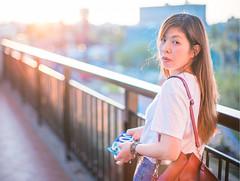 草衙道2F,夕陽 (CasaDeAM) Tags: sonya9 eyes sunshine beautifulgirl wife taiwan