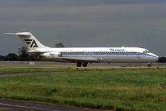 EC-BYF DC-9-32 (Irish251) Tags: aviaco dc9 dc932 dub eidw dublin ireland