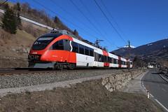 ÖBB 4024 025-1 S-Bahn, Matrei am Brenner (TaurusES64U4) Tags: öbb 4024