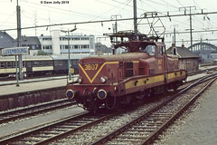 CFL 3607 (Hoover 29) Tags: electric cfl class3600 3607 lightengine luxembourgstation luxembourg