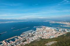 Gibraltar (lauracastillo5) Tags: gibraltar sky sea seascape city cityscape blue landscape clouds beautiful travel townscape outdoors beach