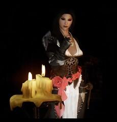 Sonera  /  Соньера (akane_nyoko) Tags: skyrim the elder scrolls v vampire portrait