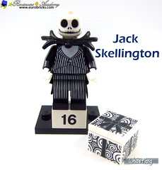 16) Jack Skellington (WhiteFang (Eurobricks)) Tags: lego minifigures cmfs collectable walt disney mickey characters licensed design personality animated animation movies blockbuster cartoon fiction story fairytale series magic magical theme park medieval stories soundtrack vault franchise review ancient god mythical town city costume space
