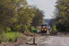 On the Other Side (travisnewman100) Tags: csx train railroad manifest cartersville subdivision dtc dark territory rr freight locomotive ge a700 atlanta division georgia es40dc