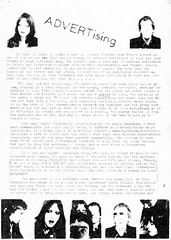 ADVERTising (stillunusual) Tags: situation3 fanzine punkfanzine punkzine punk punkrock newwave loft loftyreckitt adverts theadverts 1970s 1977