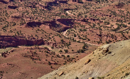 A Look Back Across a Hiking Trail Walked... (Capitol Reef National Park)