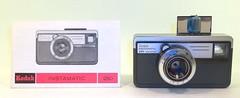 Kodak Instamatic 250 camera with manual (camera.etcetera) Tags: kodak instamatic camera 126