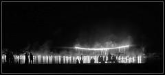 ...on fire (einfache Fotomomente) Tags: canon powershot g15 ƒ22 132 mm 160 125 feuerwerk lichtschau licht street lightshow schwarz weis unbunt bw lichtermeer lakeconstance bodensee hard seefest stedepark