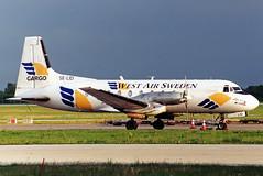 West Air Sweden HS-748 SE-LID (gooneybird29) Tags: flugzeug flughafen aircraft airport airplane airline muc hs748 westairsweden selid hawkersiddeley
