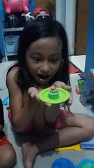 eating my clay cake :) (ghostgirl_Annver) Tags: clay cake asia asian annver girl daughter sister family teen child kid