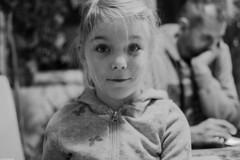 The plotting look II (Vagabundina) Tags: people person personality children child kid girl blackandwhite perspective look eyes face moment atmosphere nikon nikond5300 dsrl 35mm