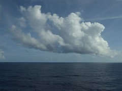 Day at Sea -- Caribbean Cruise Vacation, Day 7, Holland America's Veendam, Clouds with No Land in Sight (Mary Warren 12.9+ Million Views) Tags: carribeansea cruise vacation hollandamerica veendam sea water ocean waves sky clouds
