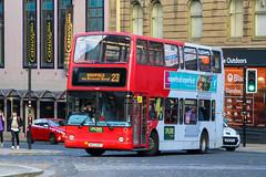Tayside 4121 W421DOP (busmanscotland) Tags: tayside 4121 w421dop w421 dop volvo b7tl plaxton president smiths travel yourbus airbus birmingham airport shuttle bus