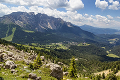 Latemar e Val d'Ega (cesco.pb) Tags: latemar valdifassa valdega dolomiten dolomiti dolomites alps alpi trentinoaltoadige italia italy canon canoneos60d tamronsp1750mmf28xrdiiivcld montagna mountains