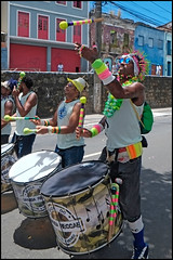 Banda do Mestre Memeu (wilphid) Tags: bonfim lavagemdobonfim comercio cidadebaixa salvador bahia brésil brasil défilé musique procession religion rue personnes