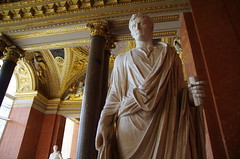 The Louvre - Paris - Augustus (sarowen) Tags: augustus louvremuseum thelouvre muséedulouvre paris parisfrance france museum art sculpture