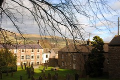 Through the trees to the Dales (zawtowers) Tags: hawes north yorkshire upper wensleydale dales england countryside rural market town famous cheese saturday 16th february 2019 dry sunny bright view through bare trees hills backdrop