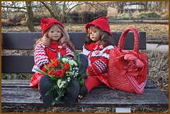 💗 Anne-Moni und Milina 💗 (Kindergartenkinder 2018) Tags: gruga park essen blumen kindergartenkinder annemoni milina