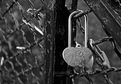 Love Paris (Rabadán Fotho) Tags: candado fotografia blancoynegro bn bw monocromatico monocromo