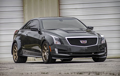 FOR SALE!!! - 2015 Custom SEMA HPT Cadillac ATS Turbo Coupe (thatGuyFromAlabama) Tags: for sale cts toyo tires cadillac caddy eugene m chism sonya7ii a7 ii sony red goat motors alabama north 2015 custom sema hpt ats turbo coupe verde vff02 wheels 19x85 front 20x11 rear magnaflow exhaust bc racing coil over suspension turboed horsepower theropy