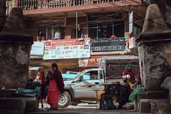 Gaushala (danielhibell) Tags: kathmandu nepal travel asia discover explore world street streetphotography people religion culture ambience mood buddhism hinduism colour light praying moving special