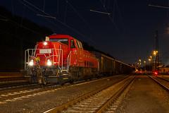 265 024 (Richard Valder) Tags: 265 br265 gravita stolberg bleizug db dbcargo voith eisenbahn güterzug güter langzeitbelichtung nacht