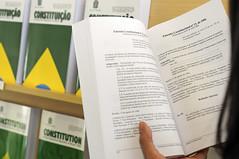 Constituição Federal (Senado Federal) Tags: feiradolivro leitura lendo livro constituiçãofederal cf88 bie emendaconstitucional pec emendaconstitucional13 constituiçãode1988 constituiçãocidadã brasília df brasil bra
