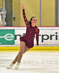 Emmy Skates (R.A. Killmer) Tags: skater emmy beauty graceful costume woman talented show performer performance skates ice