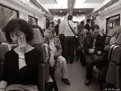 013511 - Madrid (M.Peinado) Tags: silla sillas asiento asientos tren cercanias renfe gente comunidaddemadrid madrid españa 08062018 juniode2018 2018 huawei huaweip9lite ccby monocromático blancoynegro byn blackandwhite bw