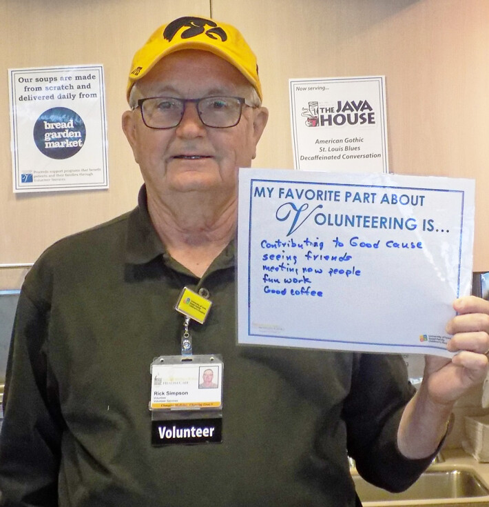 Volunteer Week: Rick Simpson