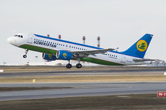 UK32020 Uzbekistan Airways Airbus A320-214 (Nathan_Ivanov) Tags: airplane aircraft vko vnukovo uuww spotting airbus airbusa320