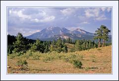 Twin Sisters Peaks in Estes Park, Colorado - 1971 (sjb4photos) Tags: colorado estespark twinsisters epsonv500 coloradorockies