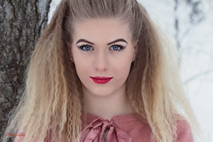 (Øyvind Bjerkholt (Thanks for 69 million+ views)) Tags: fashion beauty lips look eyes beautiful gorgeous pretty sexy woman girl female she 50mm canon classy elegance feminine arendal norway winter outdoors