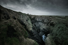 The Fairy Bridges (Full Auto Shooter) Tags: donegal ireland wildatlanticway bundoran fairybridges atlantic cliffs sky landscape canon tamron1530mm tullanstrand
